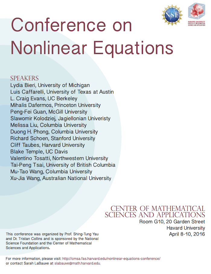 Nonlinear Conference Poster 2